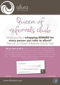 Queen of Referrals -Allura Hairdressing Boutique