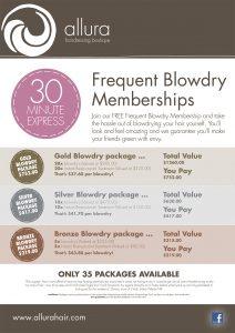Frequent Blowdry-Allura Hairdressing Boutique