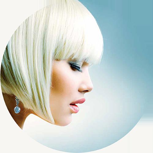 Beautiful Female Model Allura Hair Dressing Berwick