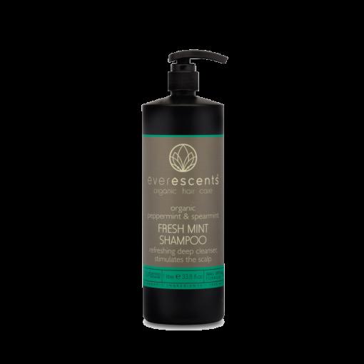 EverEscents Organic Fresh Mint Shampoo 1L