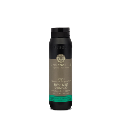 EverEscents Organic Fresh Mint Shampoo 250ml