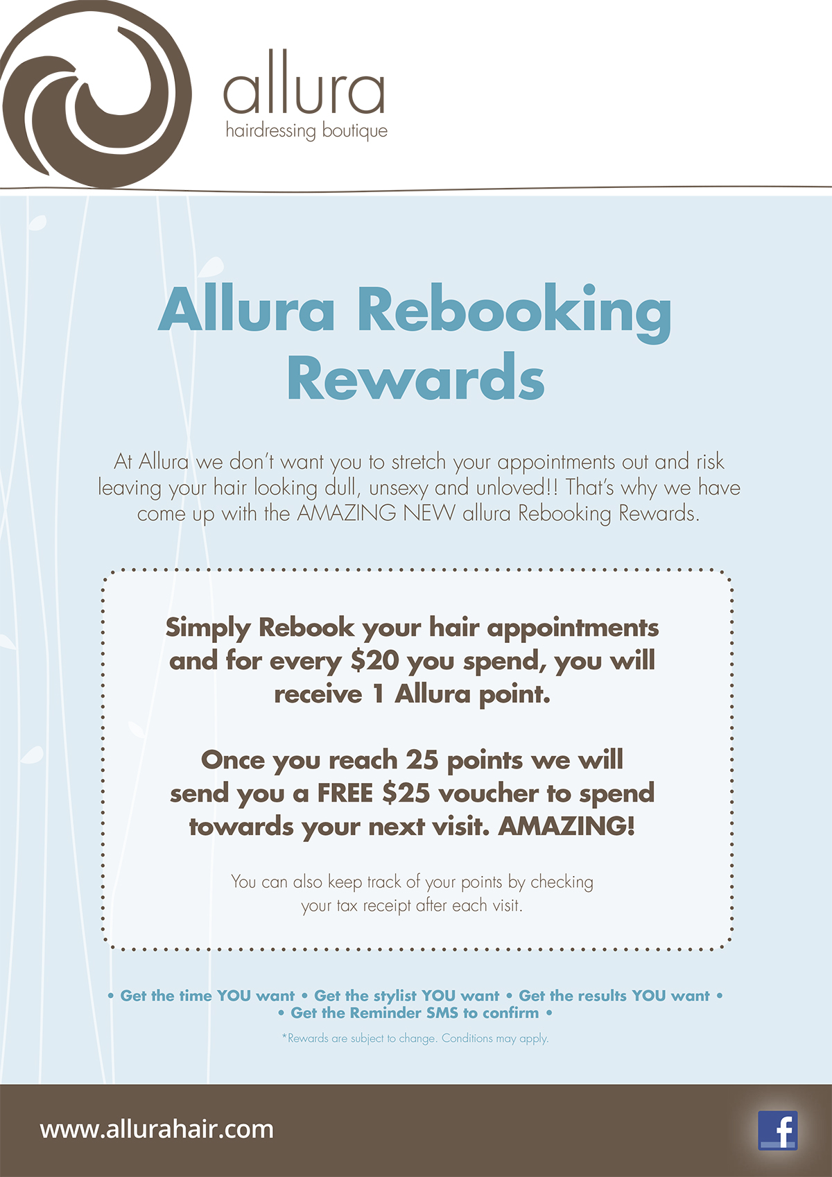 VIP Booking-Allura Hairdressing Boutique